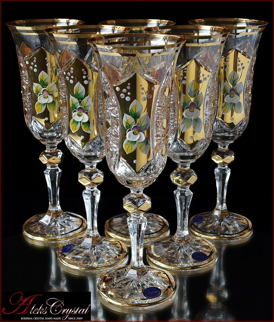Bohemia Crystal бокалы